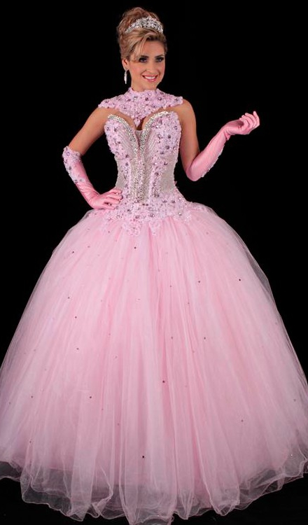 a586d96fd Aluguel e Venda de Vestidos de 15 anos Rosa - Bella Angela